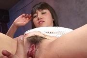 Curvy Teen Azusa Nagasawa's Hairy Pussy Pounded Photo 12