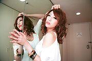 MILF Aya Sakuraba Sucking Two Dicks For Their Cum Photo 11