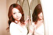 Japanese av model Kanako Tsuchiyo blowing in hot oral Photo 1