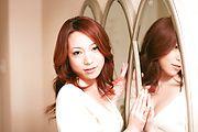 Japanese av model Kanako Tsuchiyo blowing in hot oral Photo 2
