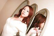 Japanese av model Kanako Tsuchiyo blowing in hot oral Photo 5