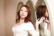 Japanese av model Kanako Tsuchiyo blowing in hot oral Photo 6